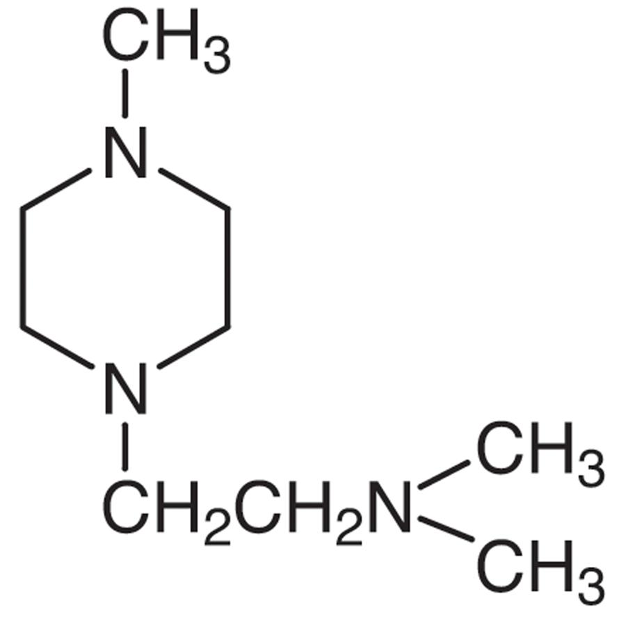1-(2-Dimethylaminoethyl)-4-methylpiperazine
