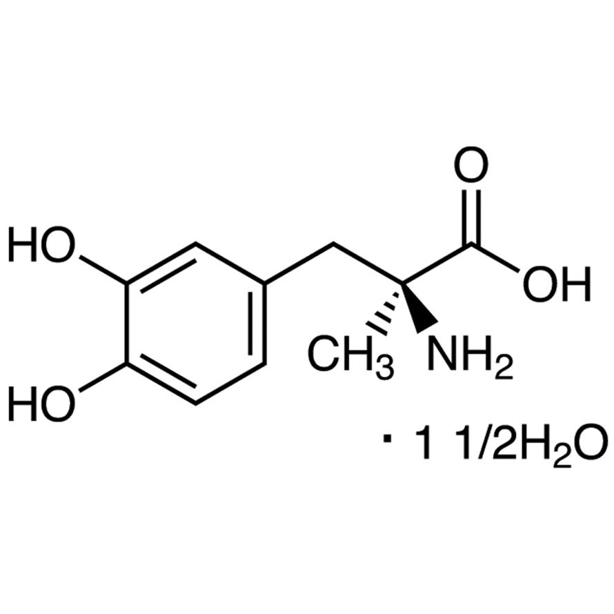 3-(3,4-Dihydroxyphenyl)-2-methyl-L-alanine Sesquihydrate