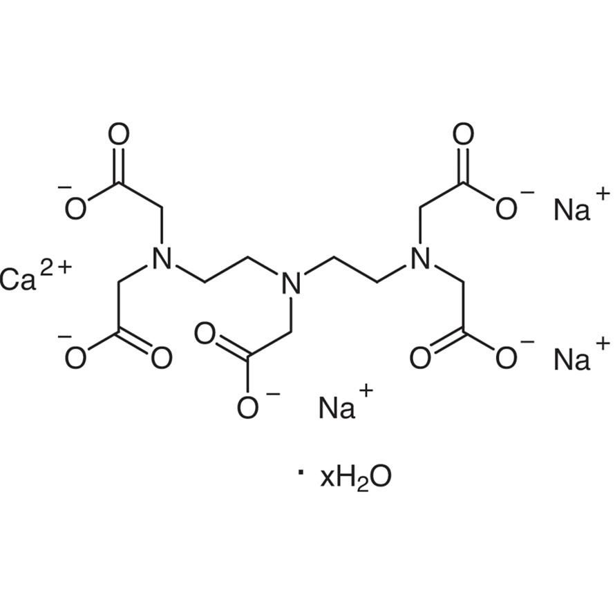 Diethylenetriaminepentaacetic Acid Calcium Trisodium Salt Hydrate
