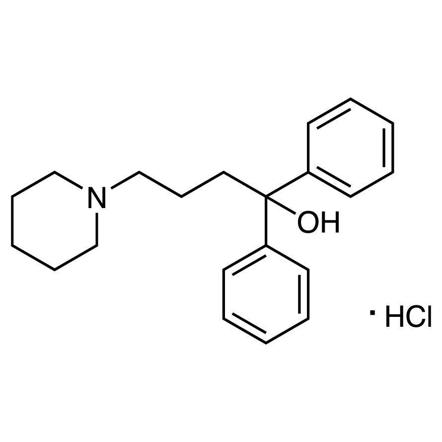 1,1-Diphenyl-4-piperidino-1-butanol Hydrochloride