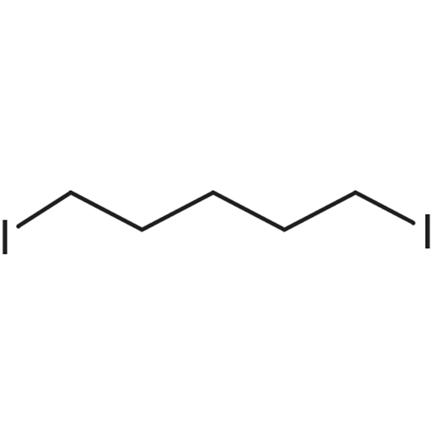 1,5-Diiodopentane (stabilized with Copper chip)