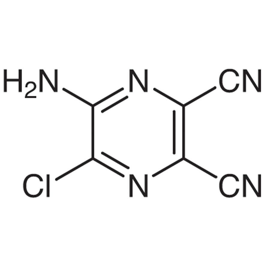 5-Amino-6-chloro-2,3-dicyanopyrazine