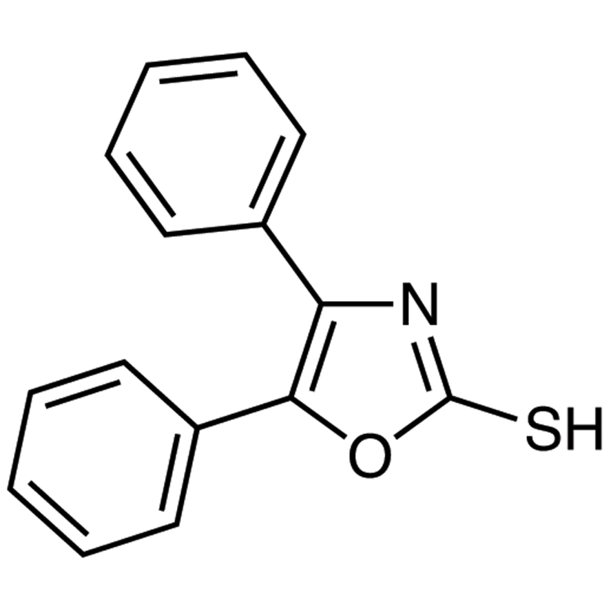 4,5-Diphenyl-2-oxazolethiol
