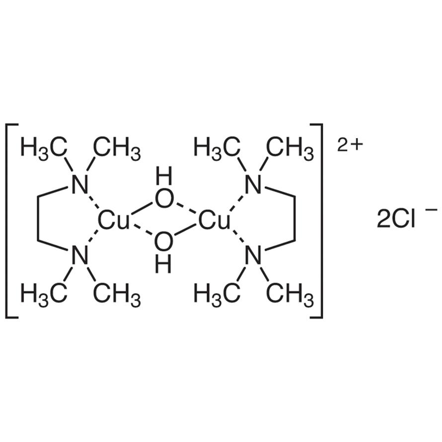 Di-μ-hydroxo-bis[(N,N,N',N'-tetramethylethylenediamine)copper(II)] Chloride