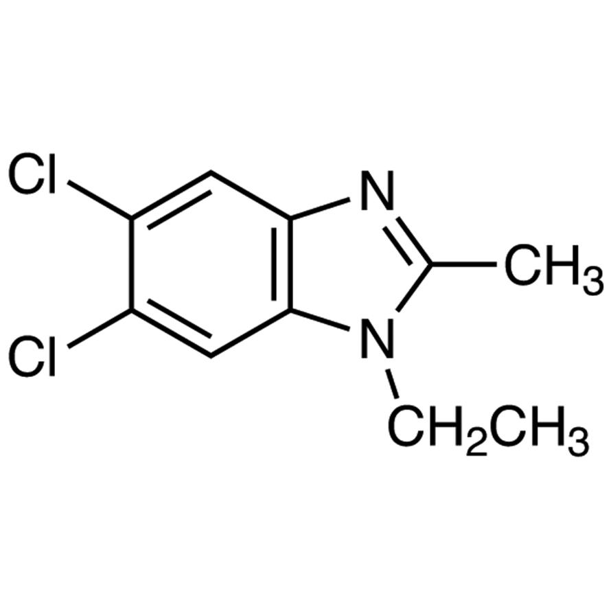 5,6-Dichloro-1-ethyl-2-methylbenzimidazole