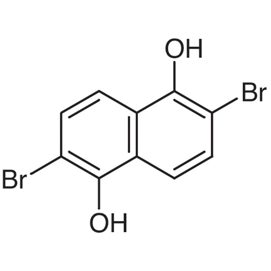 2,6-Dibromo-1,5-dihydroxynaphthalene