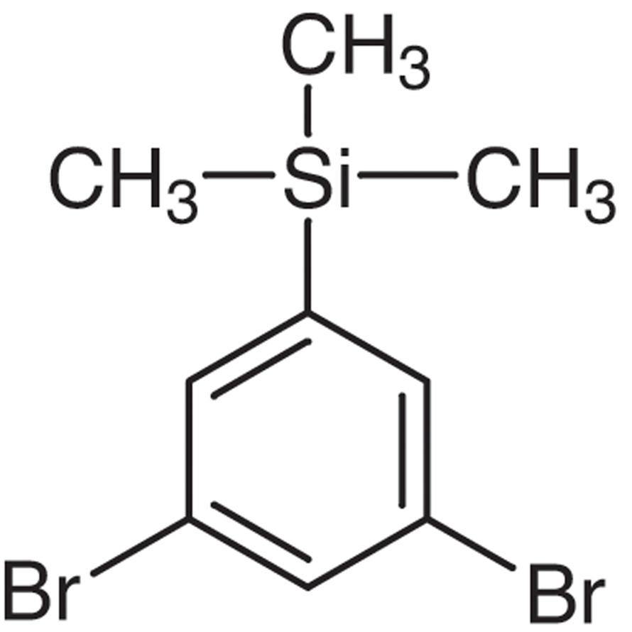 3,5-Dibromo-1-trimethylsilylbenzene
