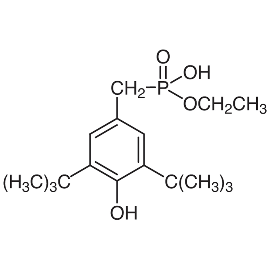 Monoethyl 3,5-Di-tert-butyl-4-hydroxybenzylphosphonate