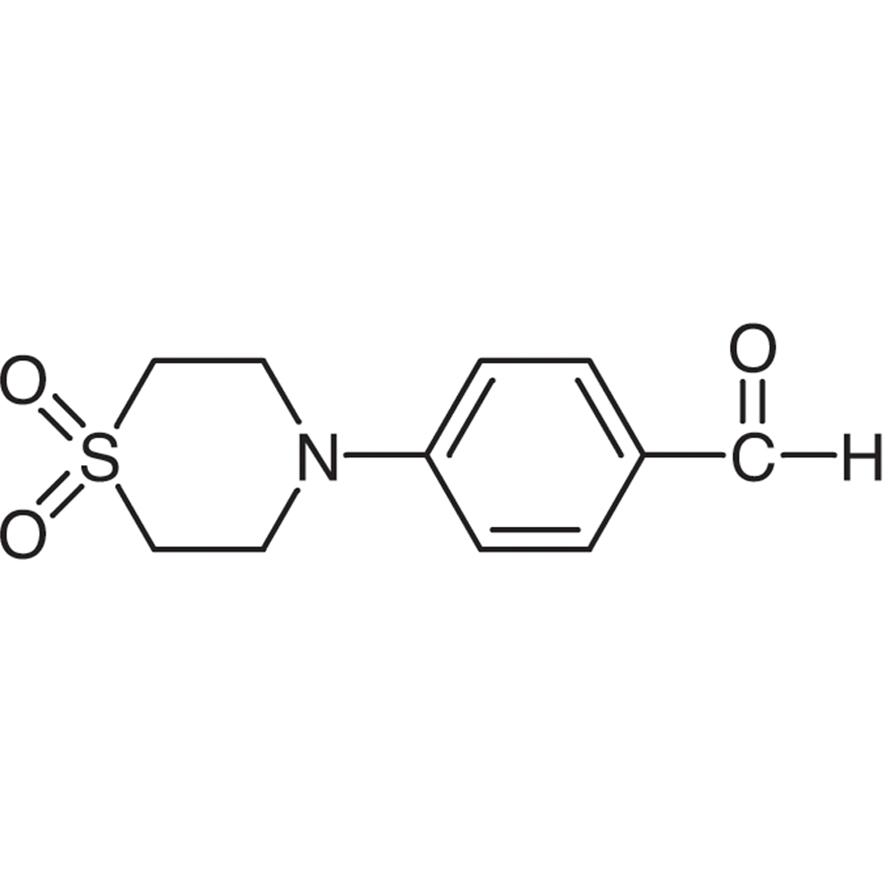 4-(1,1-Dioxothiomorpholino)benzaldehyde