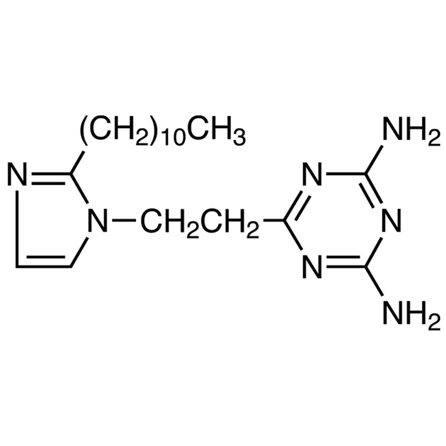 2,4-Diamino-6-[2-(2-undecyl-1-imidazolyl)ethyl]-1,3,5-triazine