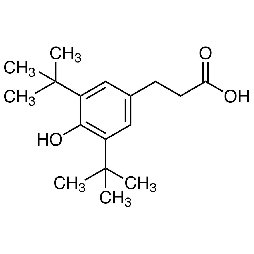 3-(3,5-Di-tert-butyl-4-hydroxyphenyl)propionic Acid
