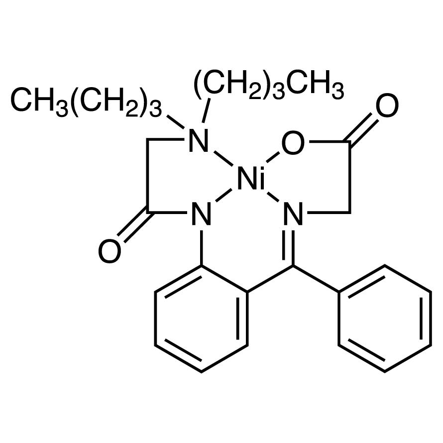 [N-[-[2-(Dibutylglycinamido)phenyl]benzylidene]glycinato]nickel