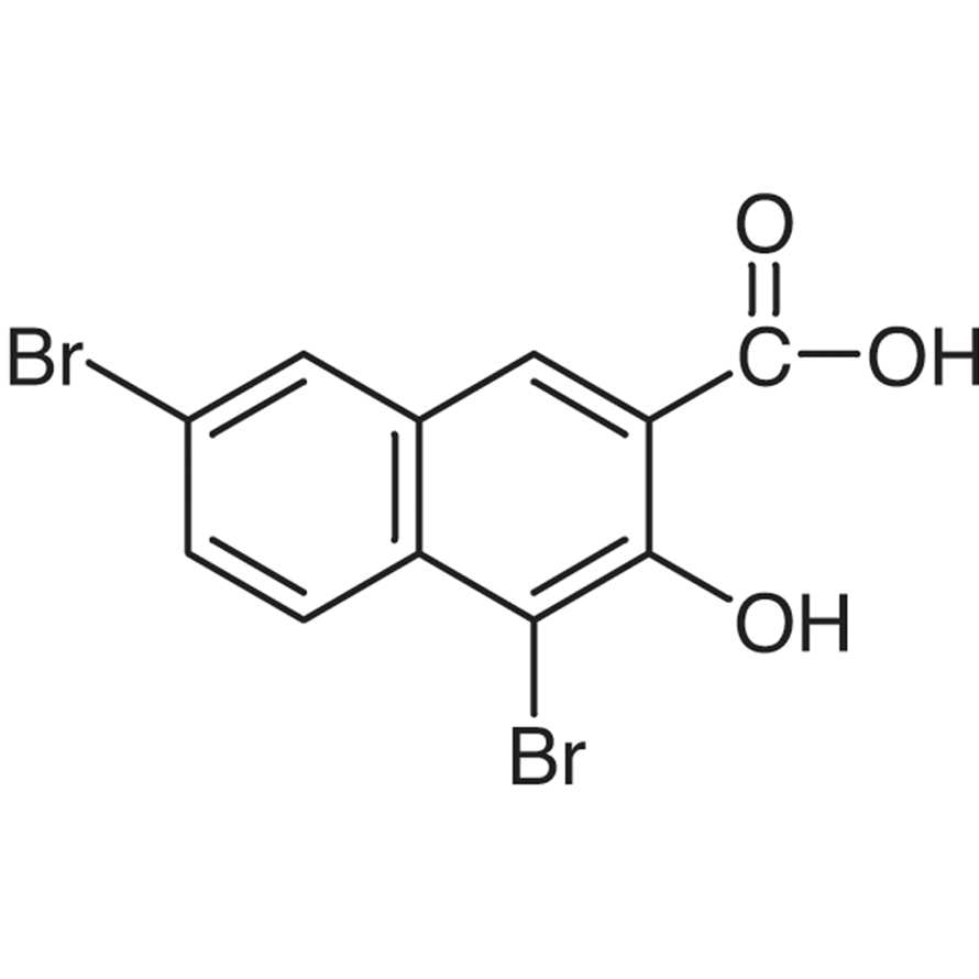 4,7-Dibromo-3-hydroxy-2-naphthoic Acid