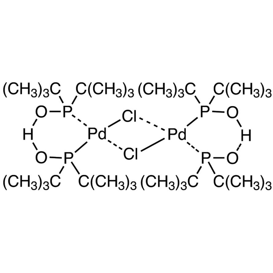 Dihydrogen Di-μ-chlorotetrakis(di-tert-butylphosphinito)dipalladate