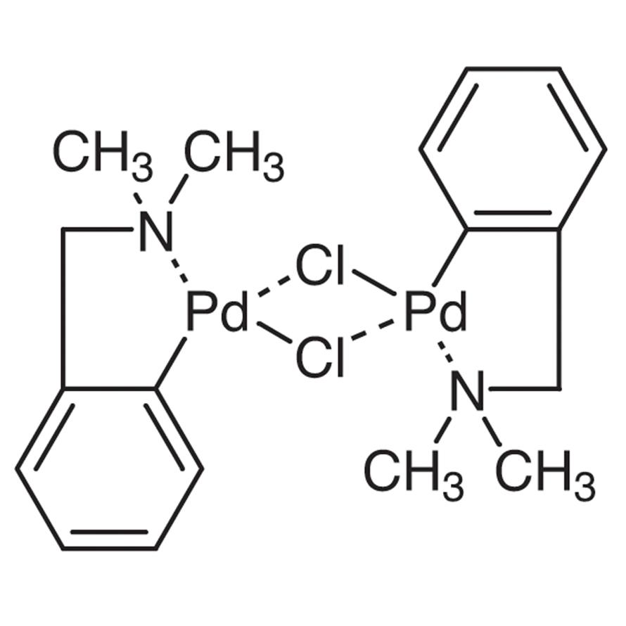 Di-μ-chlorobis[2-[(dimethylamino)methyl]phenyl-C,N]dipalladium(II)