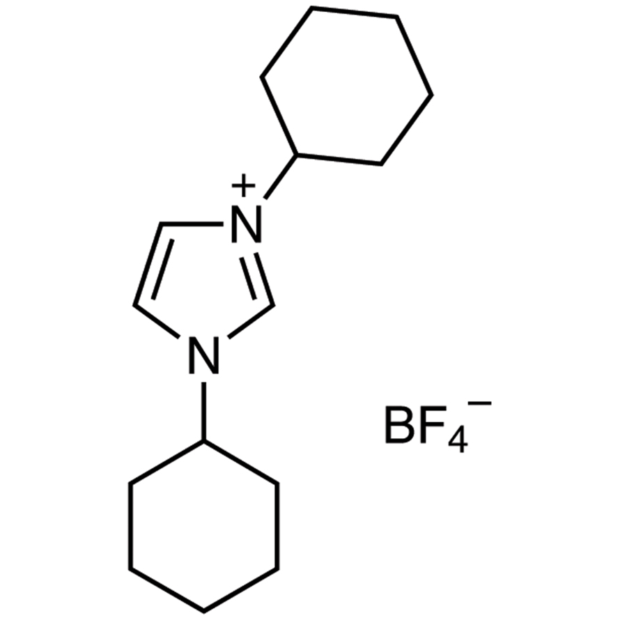 1,3-Dicyclohexylimidazolium Tetrafluoroborate