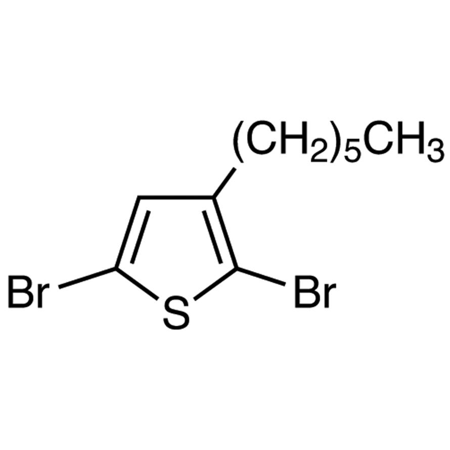 2,5-Dibromo-3-hexylthiophene