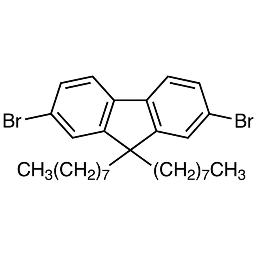 2,7-Dibromo-9,9-di-n-octylfluorene
