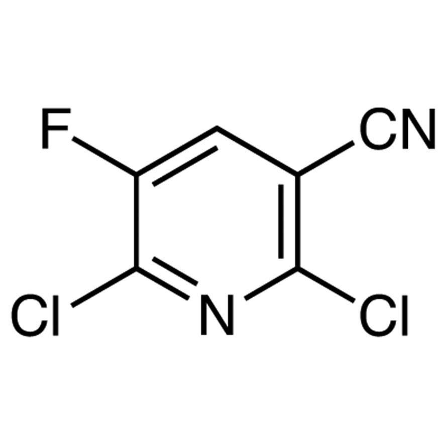 2,6-Dichloro-5-fluoro-3-pyridinecarbonitrile