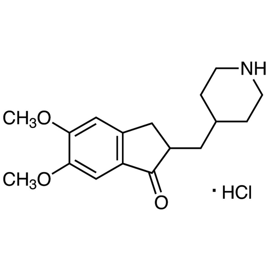 5,6-Dimethoxy-2-(4-piperidylmethyl)-1-indanone Hydrochloride