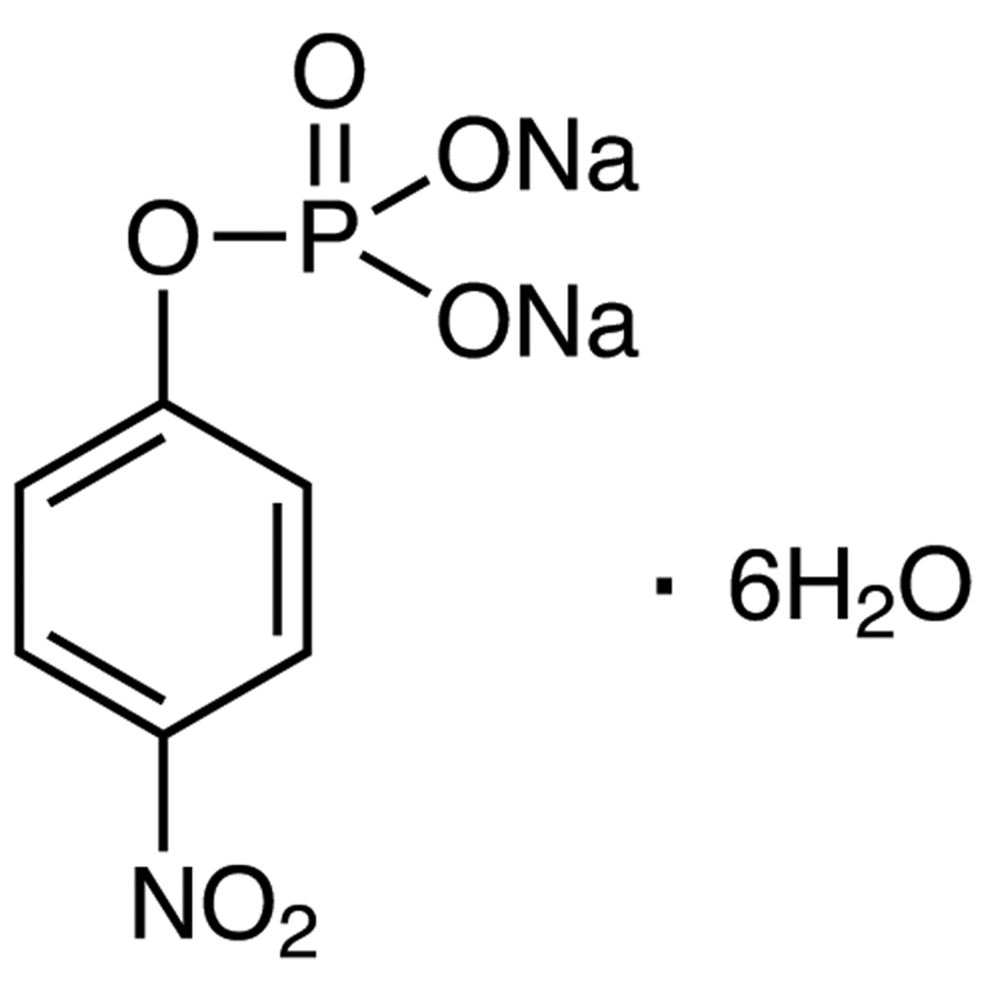 Disodium 4-Nitrophenyl Phosphate Hexahydrate [for Biochemical Research]