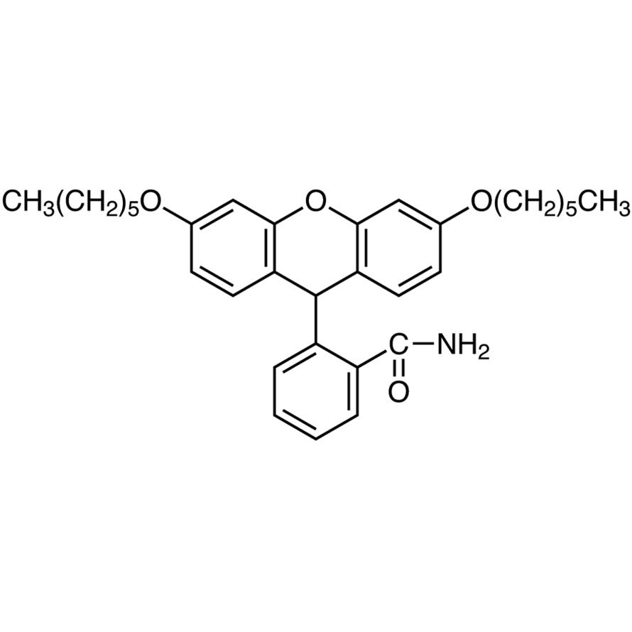 2-(3,6-Dihexyloxyxanthen-9-yl)benzamide