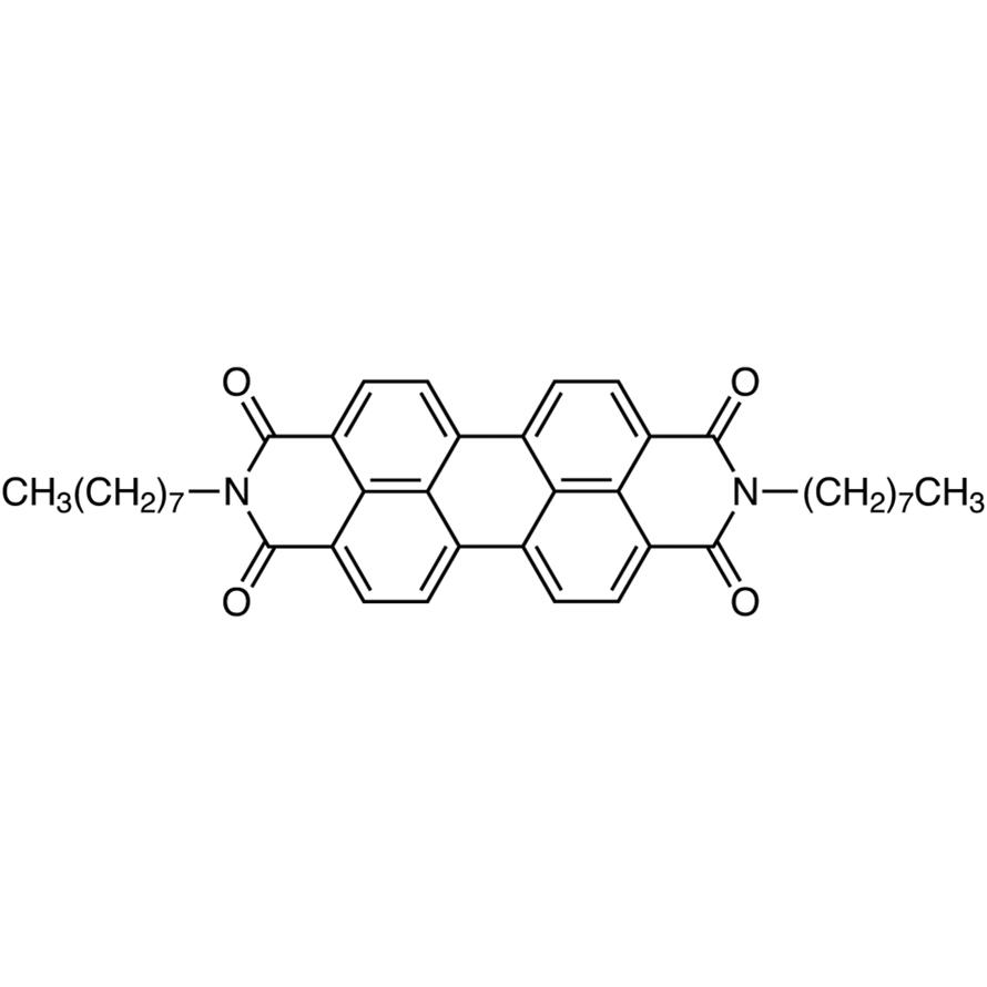 N,N'-Di-n-octyl-3,4,9,10-perylenetetracarboxylic Diimide