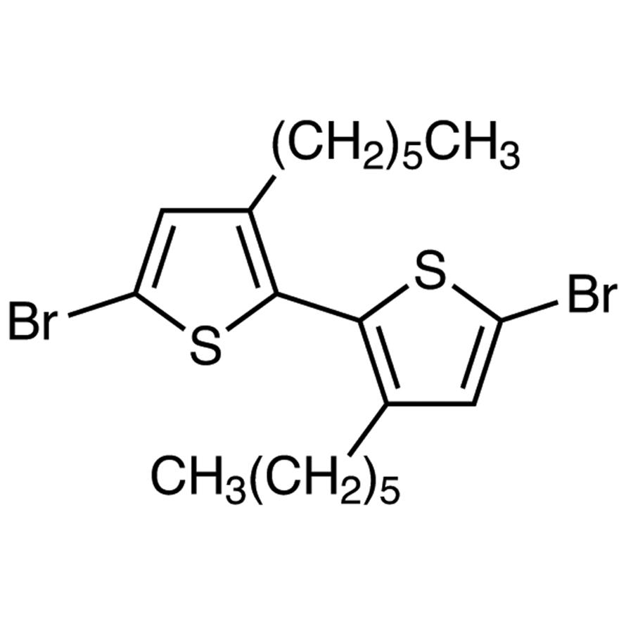 5,5'-Dibromo-3,3'-dihexyl-2,2'-bithiophene