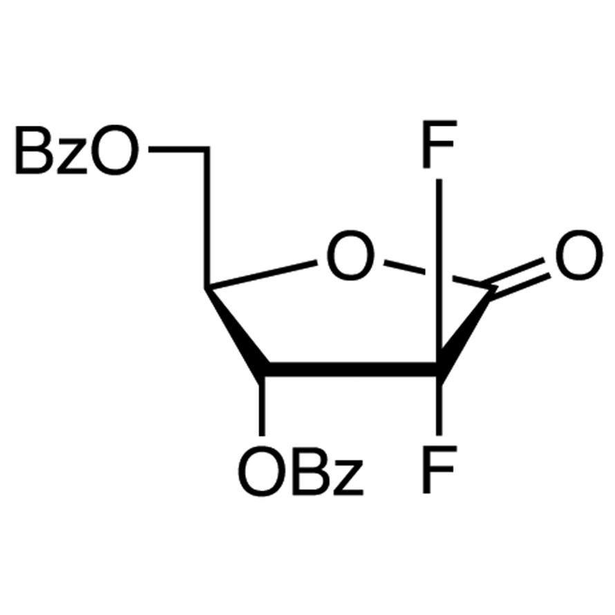2-Deoxy-2,2-difluoro-D-erythro-pentonic Acid -Lactone 3,5-Dibenzoate