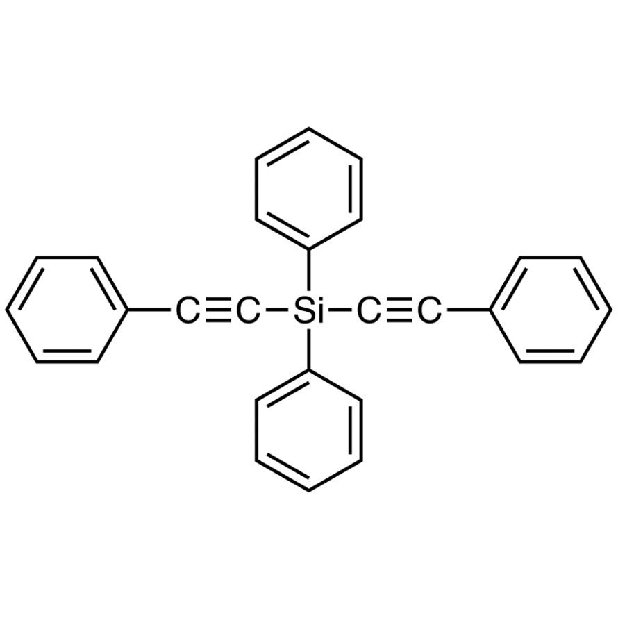 Diphenylbis(phenylethynyl)silane