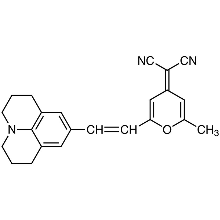 4-(Dicyanomethylene)-2-methyl-6-[2-(2,3,6,7-tetrahydro-1H,5H-benzo[ij]quinolizin-9-yl)vinyl]-4H-pyran
