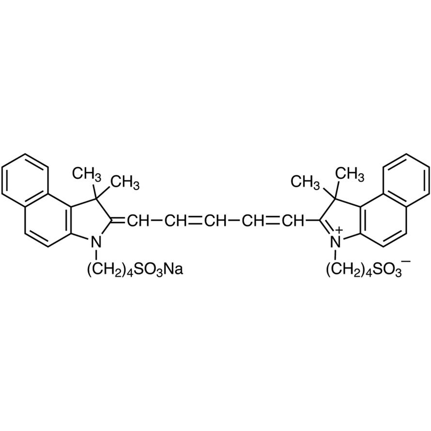 3,3,3',3'-Tetramethyl-1,1'-bis(4-sulfobutyl)benzoindodicarbocyanine Sodium Salt