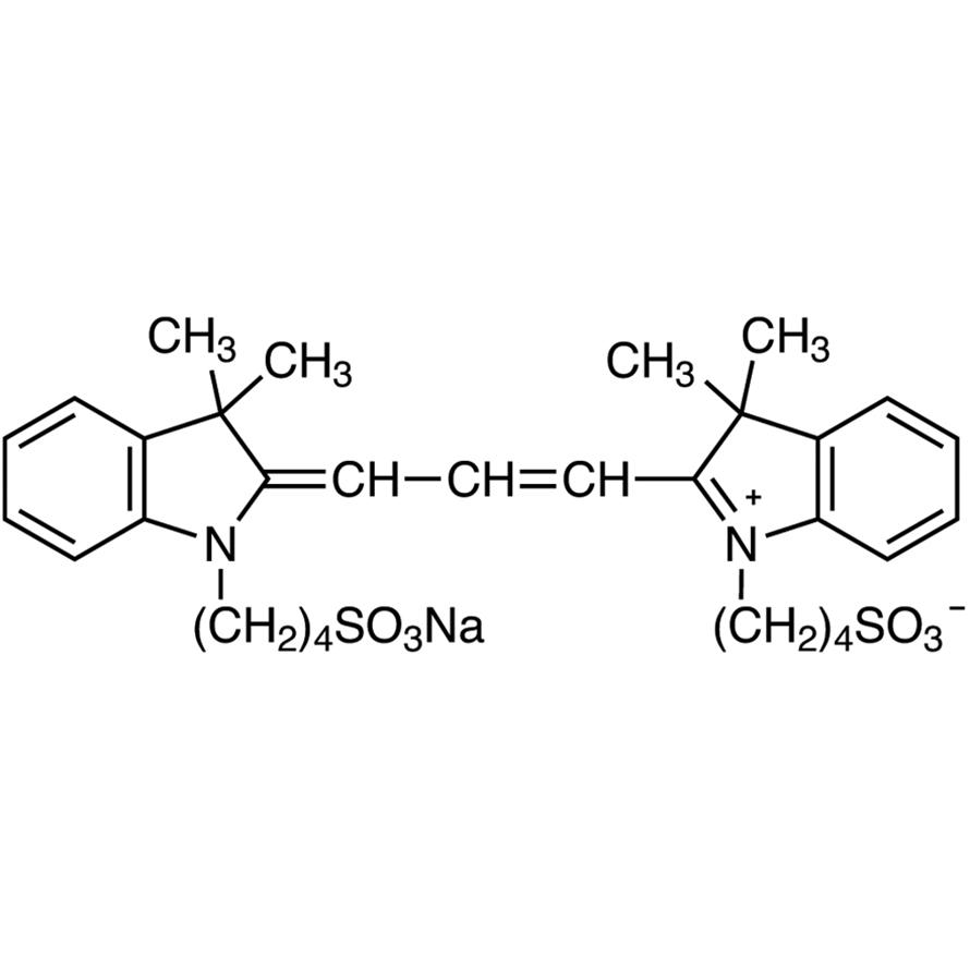 3,3,3',3'-Tetramethyl-1,1'-bis(4-sulfobutyl)indocarbocyanine Sodium Salt