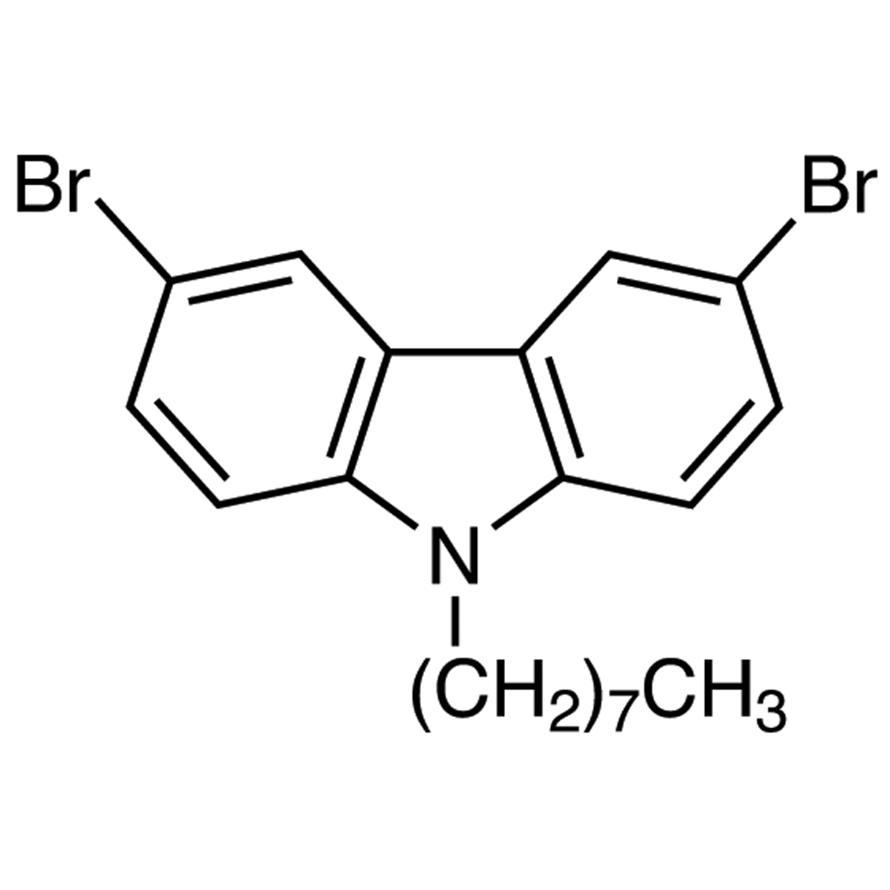 3,6-Dibromo-9-n-octylcarbazole
