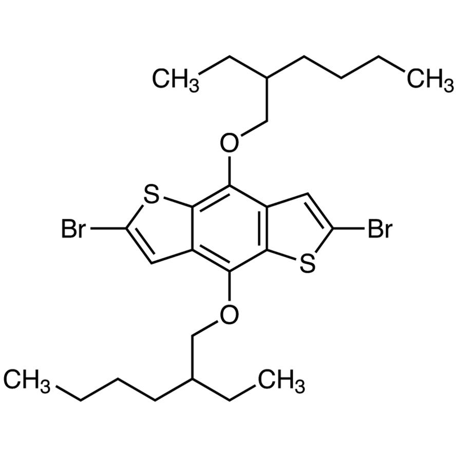 2,6-Dibromo-4,8-bis(2-ethylhexyloxy)benzo[1,2-b:4,5-b']dithiophene