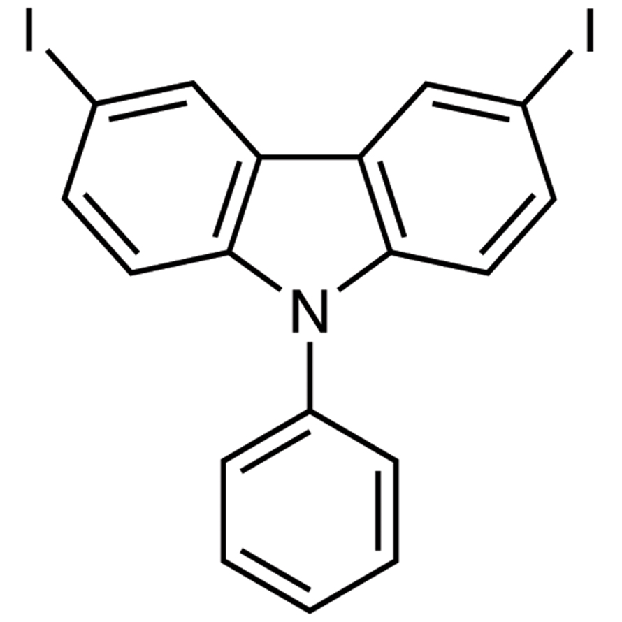 3,6-Diiodo-9-phenylcarbazole