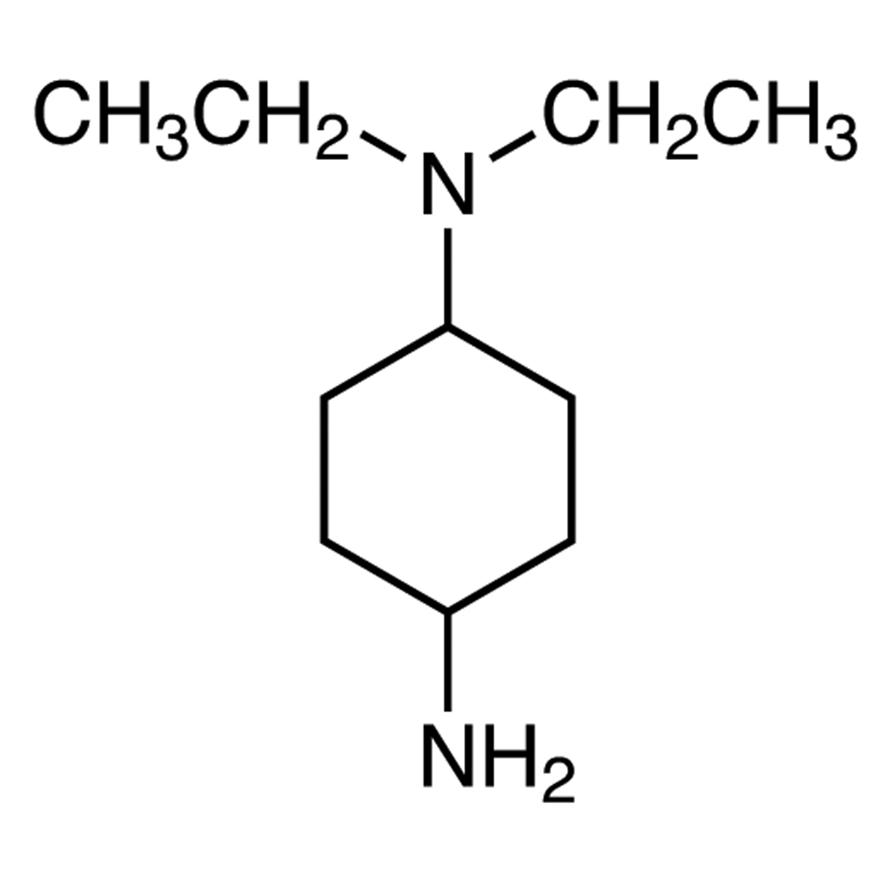 N,N-Diethyl-1,4-cyclohexanediamine (cis- and trans- mixture)