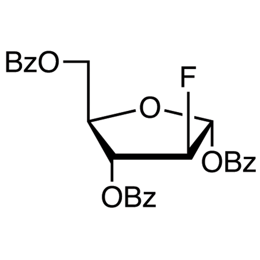 2-Deoxy-2-fluoro-1,3,5-tri-O-benzoyl--D-arabinofuranose