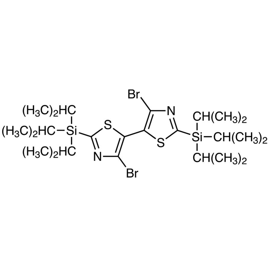 4,4'-Dibromo-2,2'-bis(triisopropylsilyl)-5,5'-bithiazole