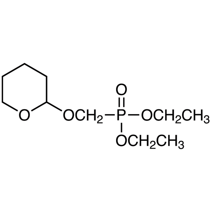 Diethyl [(Tetrahydropyran-2-yloxy)methyl]phosphonate