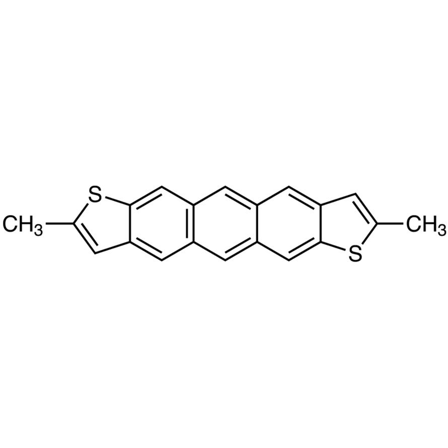 2,8-Dimethylanthra[2,3-b:6,7-b']dithiophene (purified by sublimation)