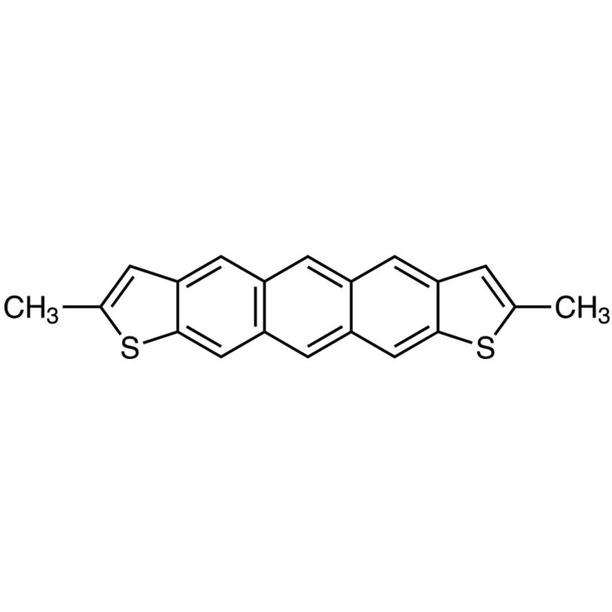 2,8-Dimethylanthra[2,3-b:7,6-b']dithiophene (purified by sublimation)