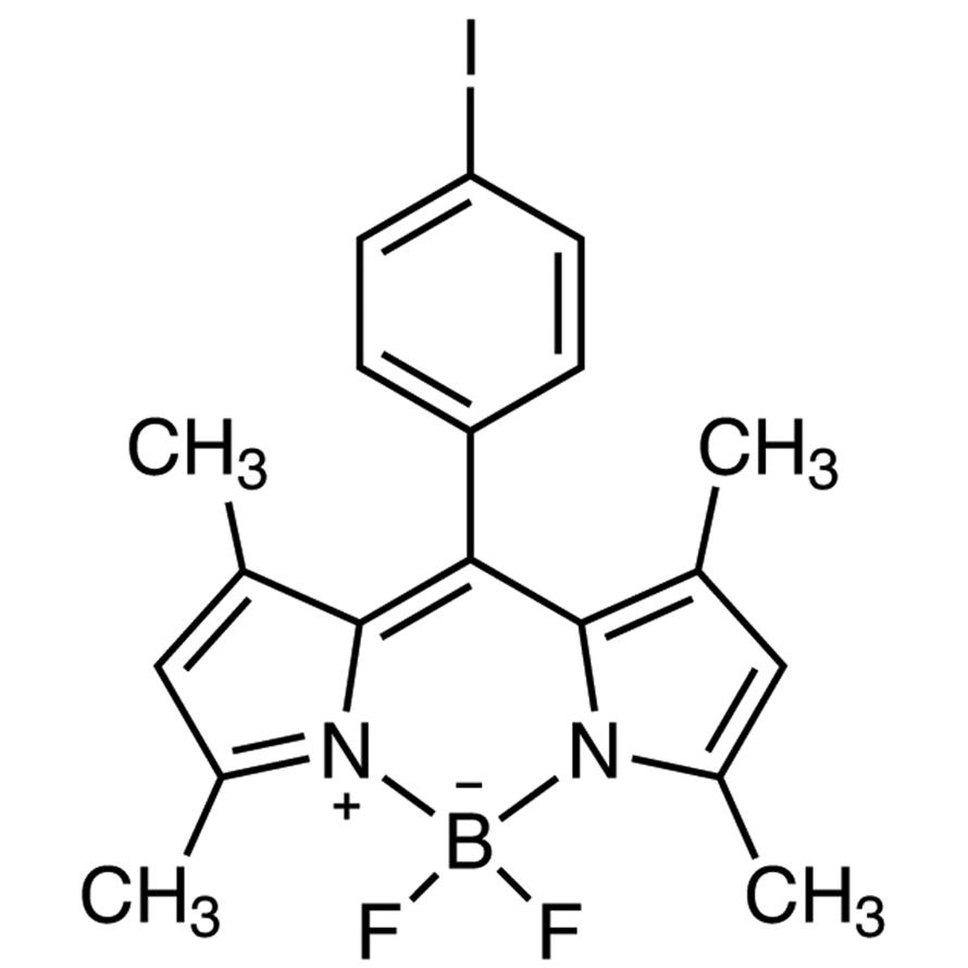 [1-[(3,5-Dimethyl-1H-pyrrol-2-yl)(3,5-dimethyl-2H-pyrrol-2-ylidene)methyl]-4-iodobenzene](difluoroborane)