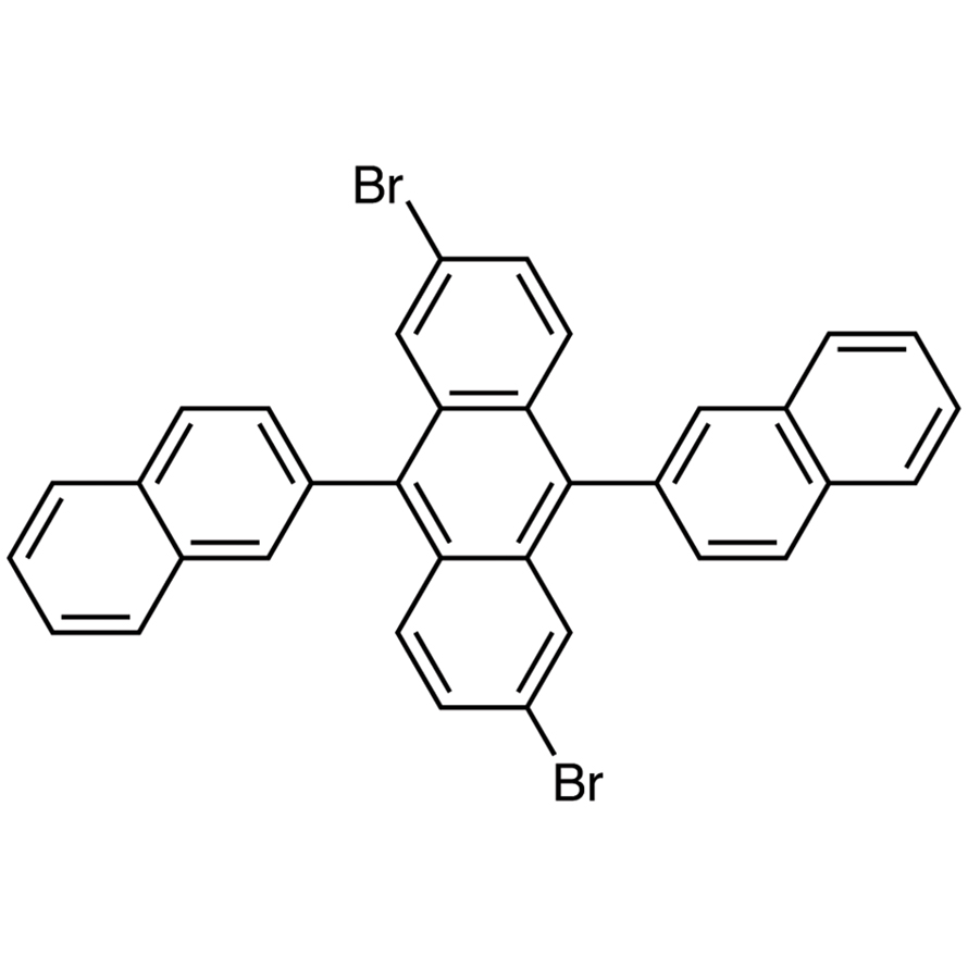 2,6-Dibromo-9,10-di(2-naphthyl)anthracene