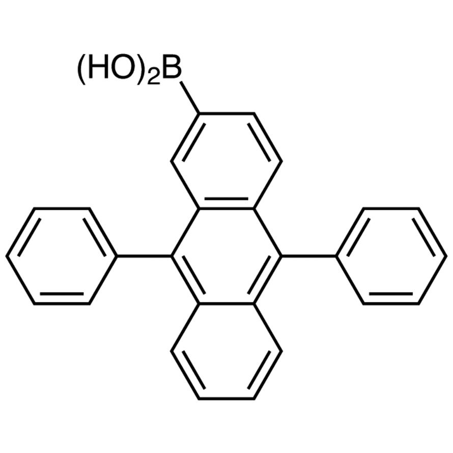 9,10-Diphenylanthracene-2-boronic Acid (contains varying amounts of Anhydride)