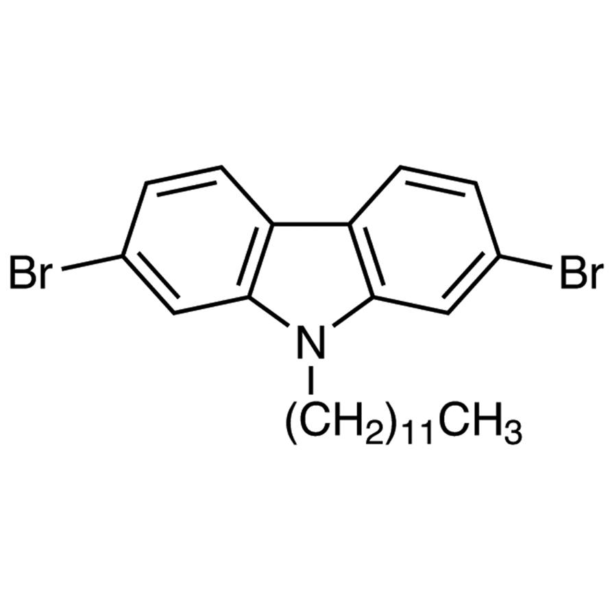 2,7-Dibromo-9-dodecylcarbazole