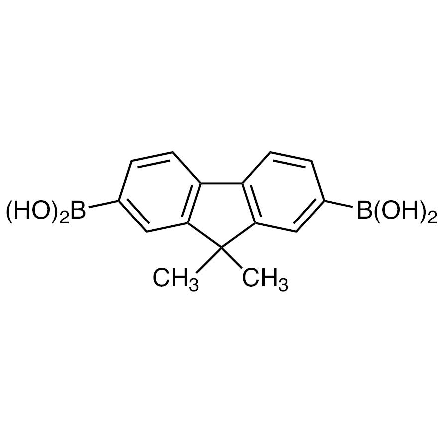 (9,9-Dimethyl-9H-fluorene-2,7-diyl)diboronic Acid (contains varying amounts of Anhydride)