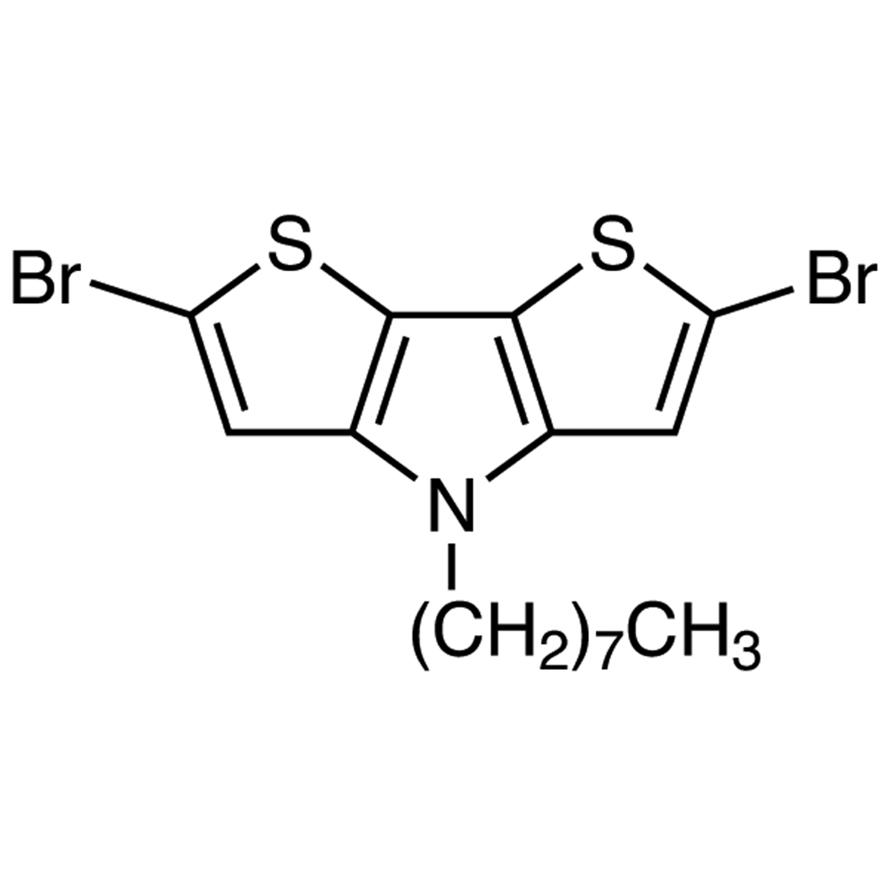 2,6-Dibromo-4-n-octyldithieno[3,2-b:2',3'-d]pyrrole