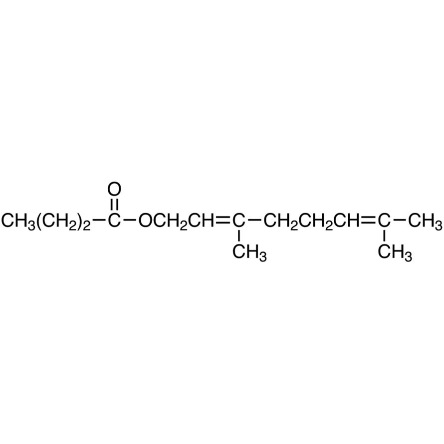 3,7-Dimethyl-2,6-octadienyl Butyrate