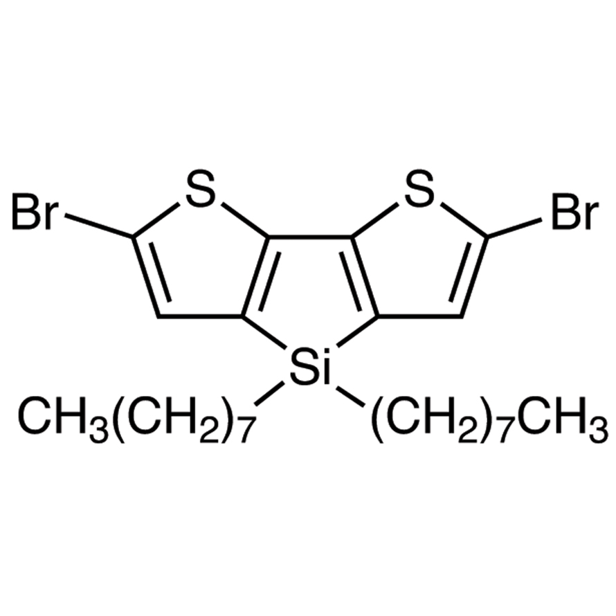 2,6-Dibromo-4,4-di-n-octyldithieno[3,2-b:2',3'-d]silole